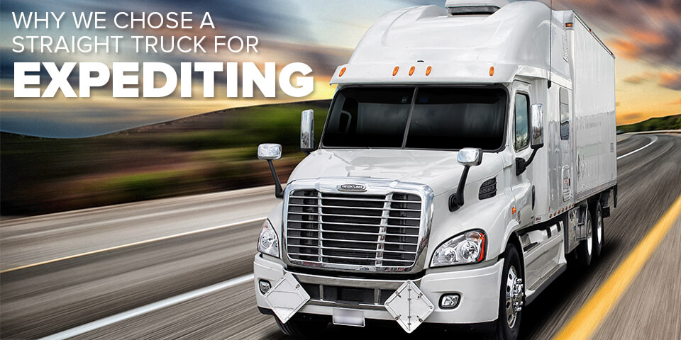 Why We Chose a Straight Truck for Expediting - Straight Truck Blog